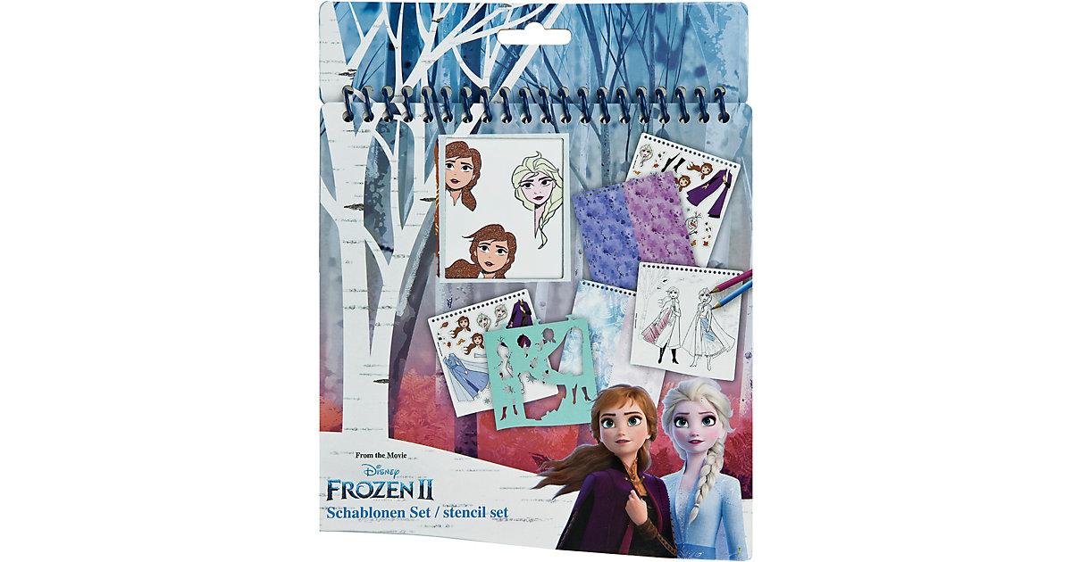 Frozen II Schablonen-Set