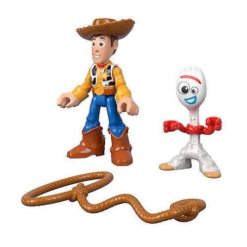 """Набор фигурок Imaginext """"История игрушек 4"""" Форки и Вуди от Mattel"""