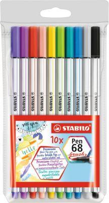 Premium-Filzstifte Pen 68 brush, 10 Farben