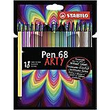 Фломастеры Stabilo Pen 68, 18 цветов