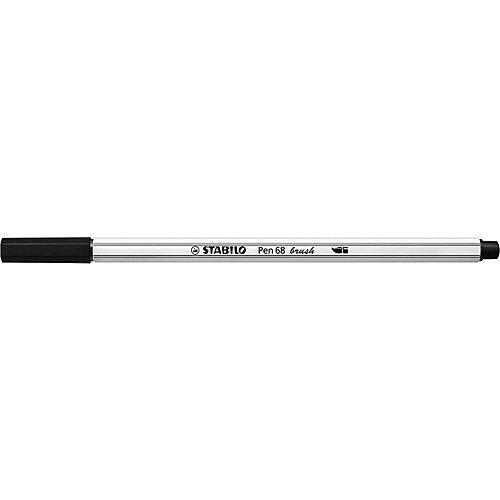 Фломастеры-кисти Stabilo Pen 68 Brush, 12 цветов от STABILO