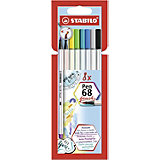 Фломастеры-кисти Stabilo Pen 68 Brush, 8 цветов