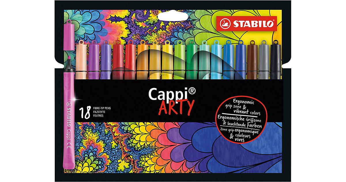 Filzstifte Cappi ARTY, 18 Farben