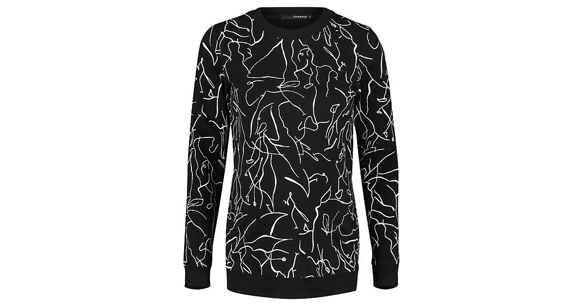 Pullover Lines Umstandsshirts schwarz Gr. 44 Damen Erwachsene | Bekleidung > Umstandsmode > Umstandsshirts | SUPERMOM