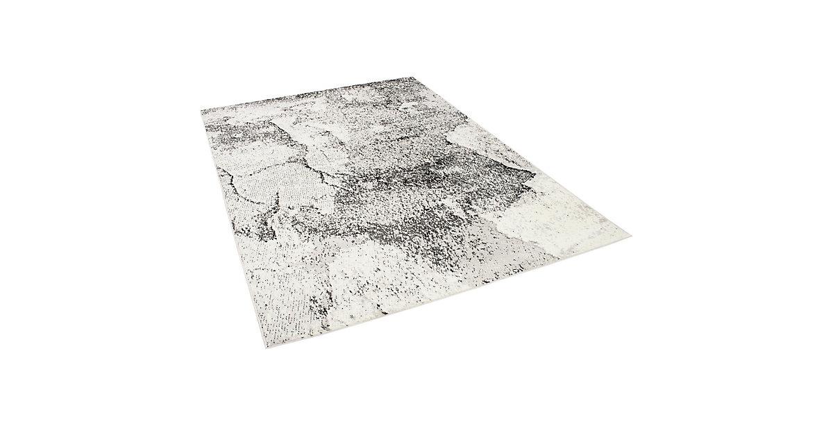 Designer Teppich Tango Grau Steinoptik Spielteppiche grau Gr. 80 x 150