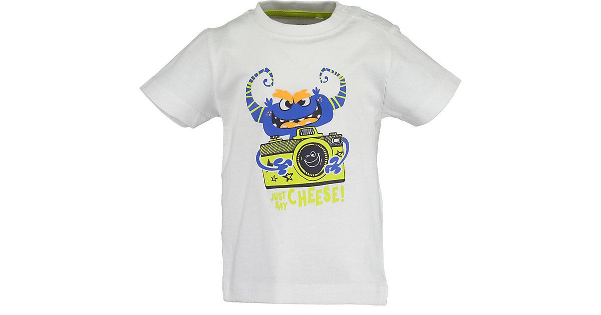 Baby T-Shirt  weiß Gr. 68 Jungen Baby