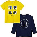 Комплект Mayoral: лонгслив и футболка
