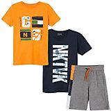Комплект Mayoral: футболка 2 шт. и шорты