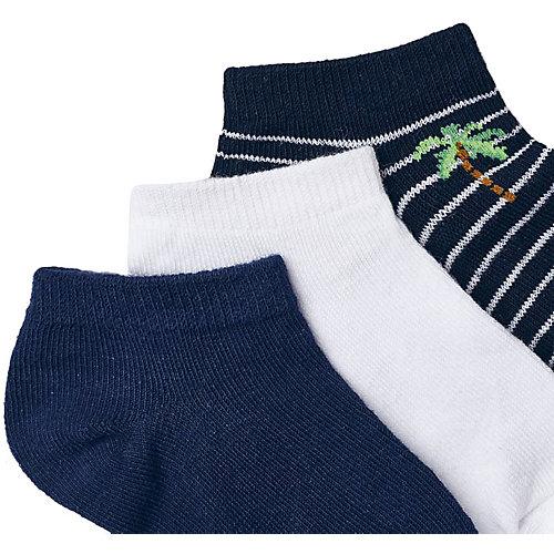 Укороченные носки Mayoral, 3 пары - темно-синий от Mayoral