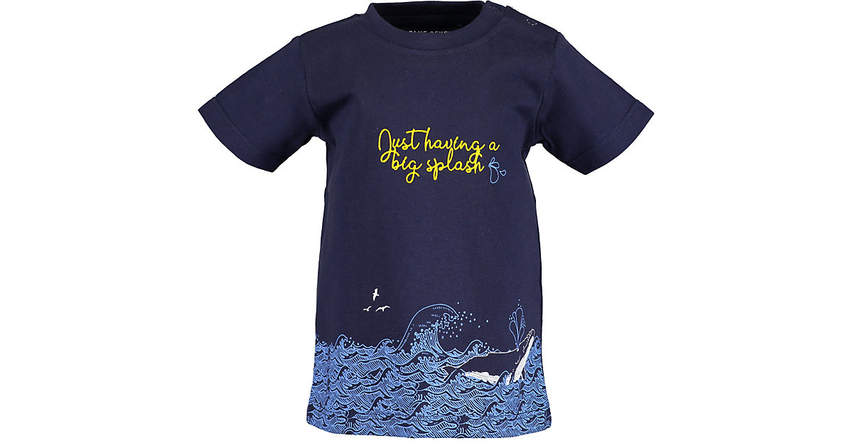 Baby T-Shirt  dunkelblau Gr. 68 Jungen Baby