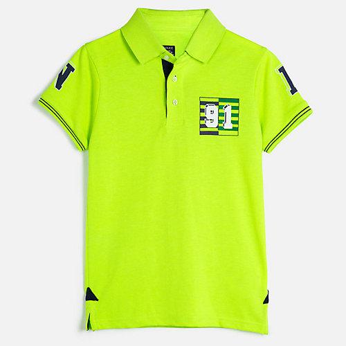 Футболка-поло Mayoral - зеленый от Mayoral
