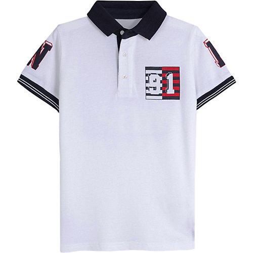 Футболка-поло Mayoral - белый от Mayoral