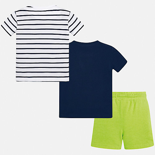 Комплект Mayoral: футболка 2 шт и шорты - зеленый от Mayoral