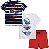 Комплект Mayoral: футболка 2 шт и шорты
