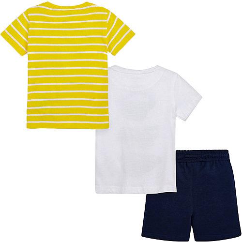 Комплект Mayoral: футболка 2 шт и шорты - темно-синий от Mayoral