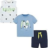 Комплект Mayoral: футболка, майка и шорты