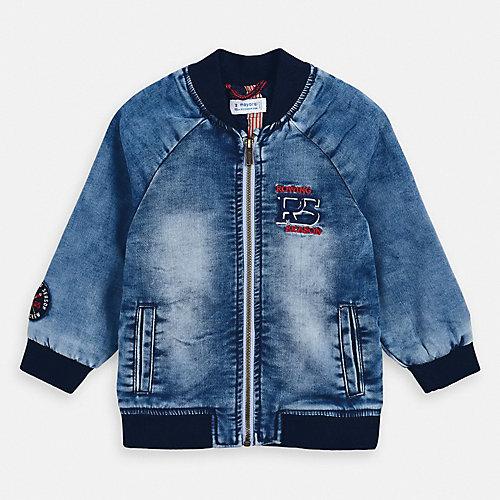 Джинсовая куртка Mayoral - синий деним от Mayoral