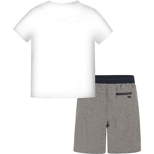 Комплект Mayoral: футболка и шорты - серый от Mayoral