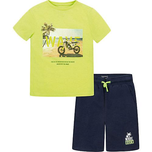 Комплект Mayoral: футболка и шорты - синий от Mayoral