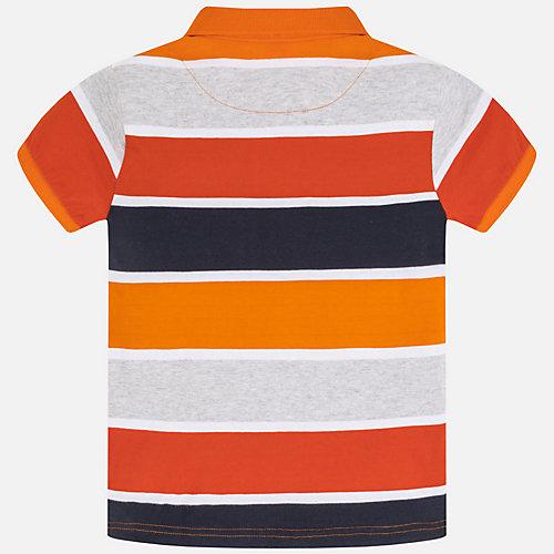 Футболка-поло Mayoral - оранжевый от Mayoral