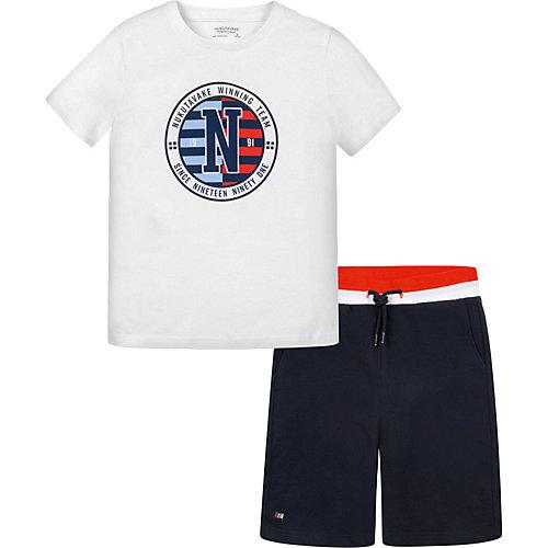 Комплект Mayoral: футболка и шорты - темно-синий от Mayoral