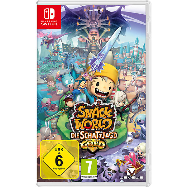 Nintendo Switch Snack World Die Schatzjagd - Gold