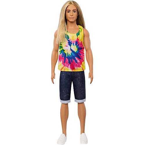 """Кукла Barbie """"Игра с модой"""" Кен с длинными волосами от Mattel"""