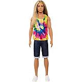 """Кукла Barbie """"Игра с модой"""" Кен с длинными волосами"""