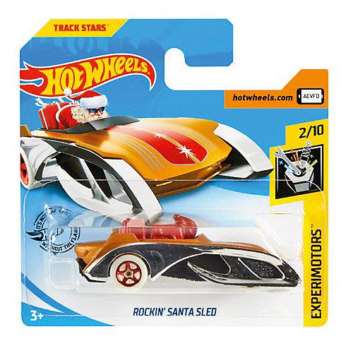 Базовая машинка Hot Wheels Rockin Santa Sled от Mattel