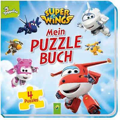 Super Wings - Puzzlebuch