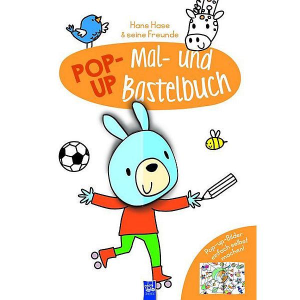 Pop-Up Mal- Und Bastelbuch Hase, YoYo Books | MyToys