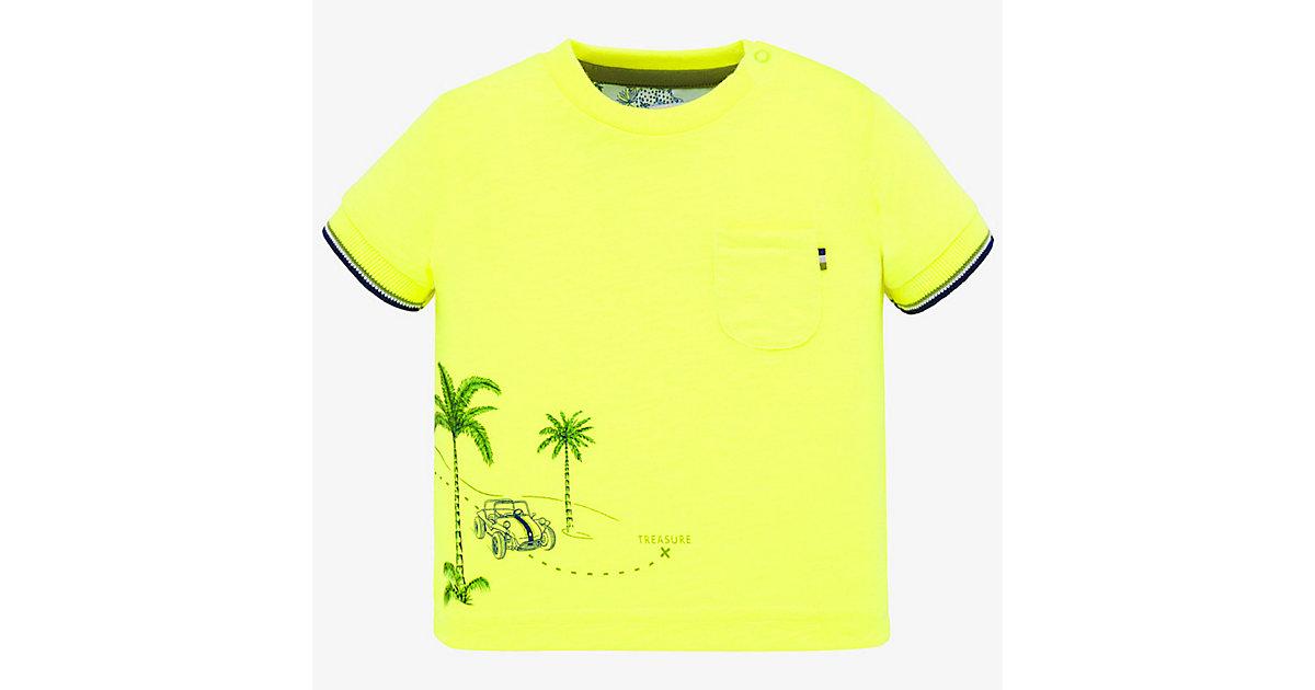 Baby T-Shirt  gelb Gr. 80 Jungen Baby