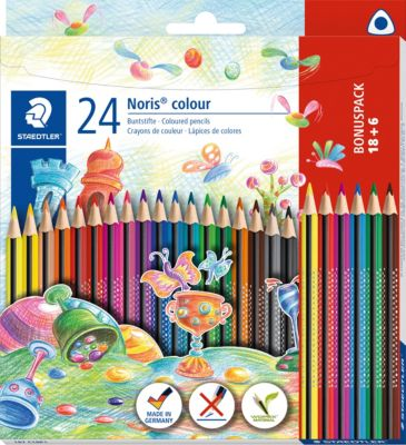 12 Stück 6 Farben Wachsmalkreide Wachsmalstifte als Einhorn Dinosaurier Dinos