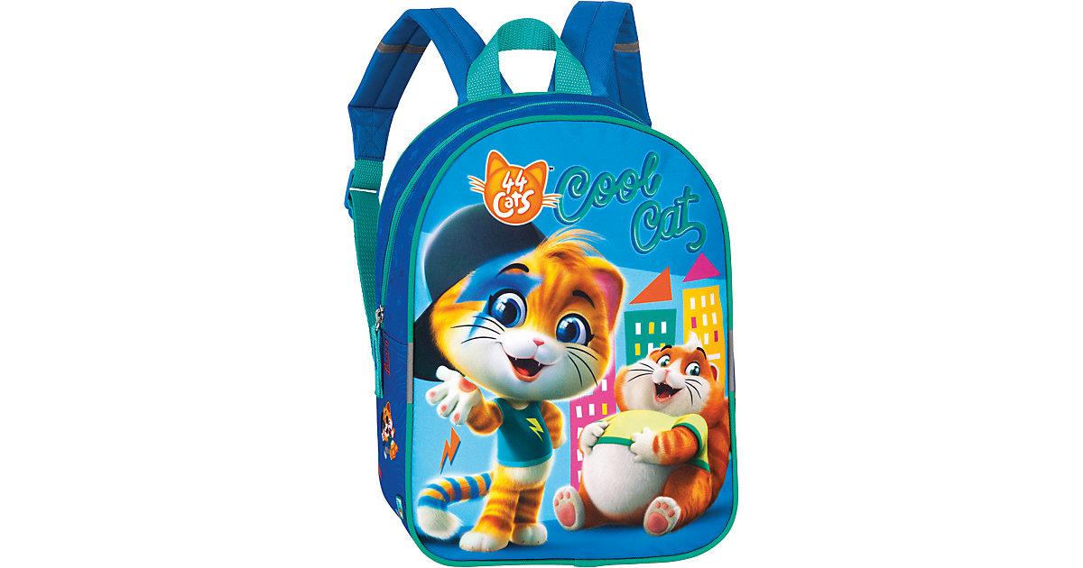 Kinderrucksack 44 Cats Lampo & Metti blau