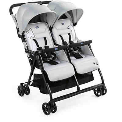 Zwillingsbuggy Ohlalà Twin, silber