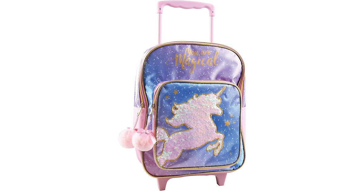 Trolley Magical Unicorn rosa/blau
