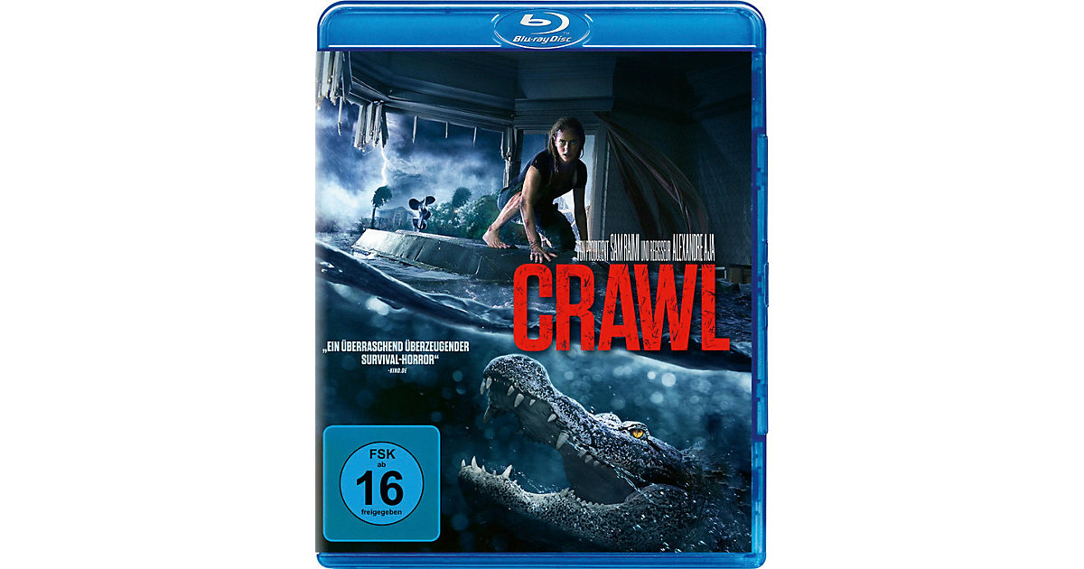 BLU-RAY Crawl Hörbuch