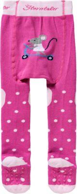 Rosa Gr/ö/ße: 80 Sterntaler Strumpfhose f/ür Babys Magenta Alter: 7-12 Monate