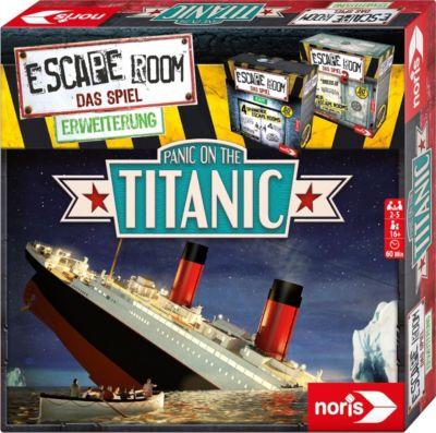 Escape Room Erweiterung Panic on the Titanic