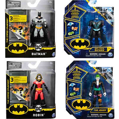 Batman - 10 cm Basic Figur - All Characters