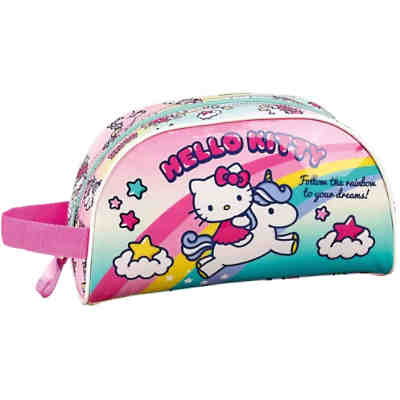 Kosmetiktasche Hello Kitty Candy Unicorns