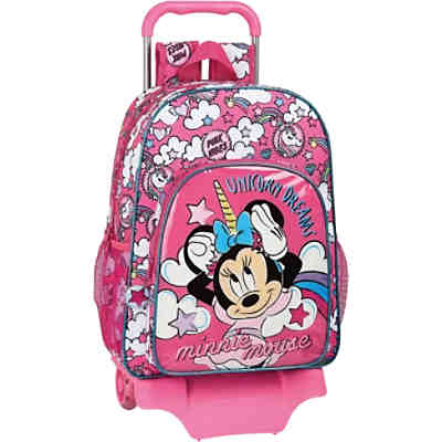 Rucksack mit Trolley Minnie Mouse Unicorn Dreams