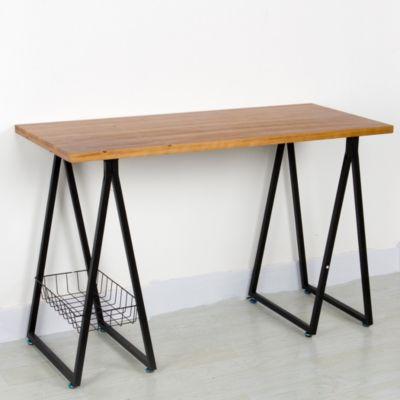 Schreibtisch Brick schwarz-kombi