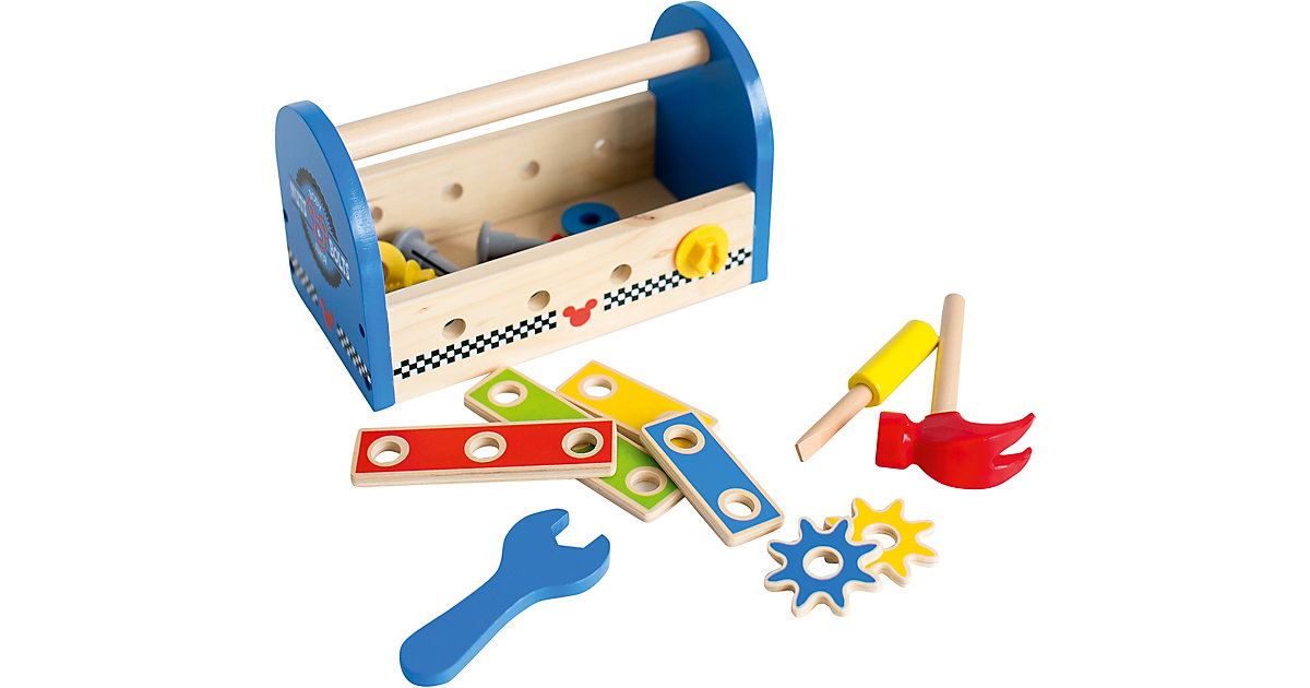 Mickey Mouse Werkzeugbox aus Holz