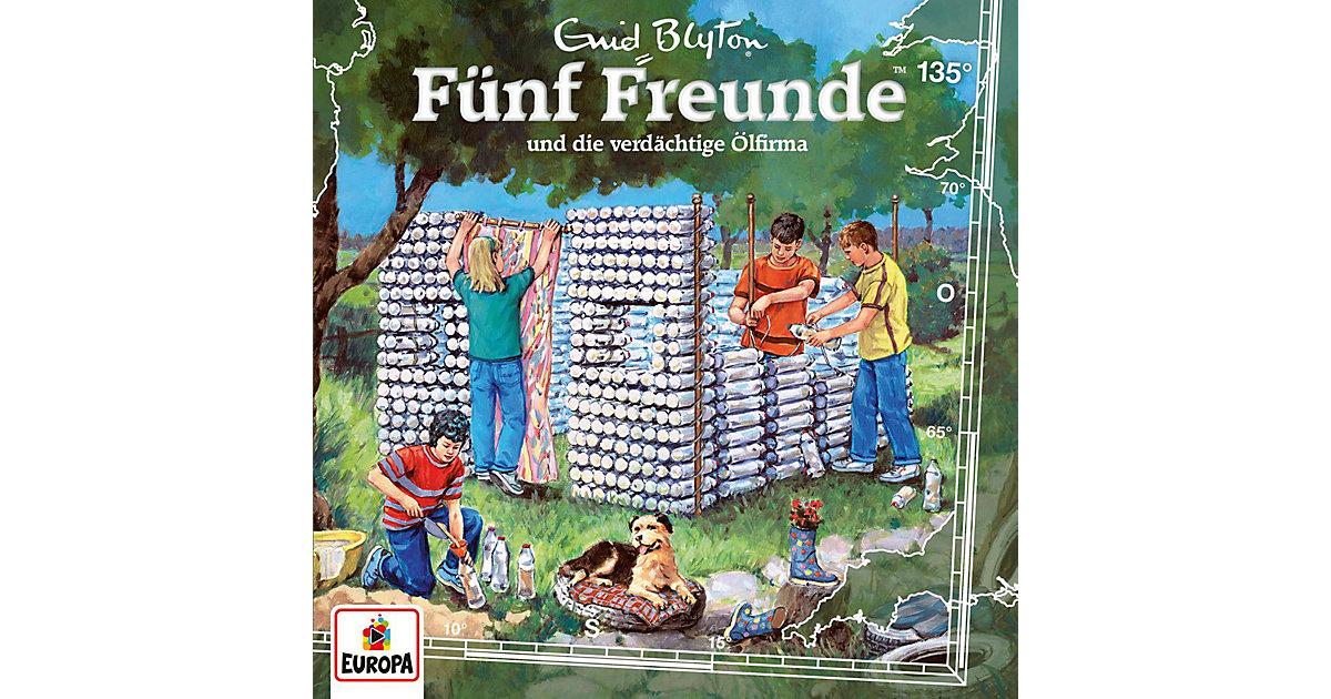 CD Fünf Freunde 135 - und die verdächtige Ölfirma Hörbuch