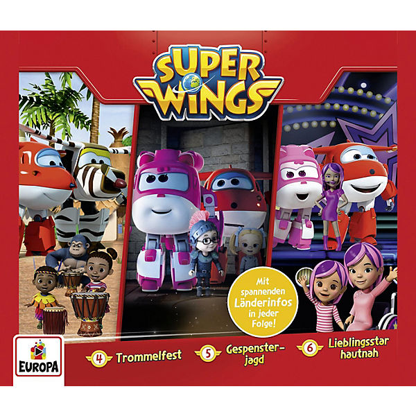CD Super Wings Box 2 (Folgen 4,5,6)