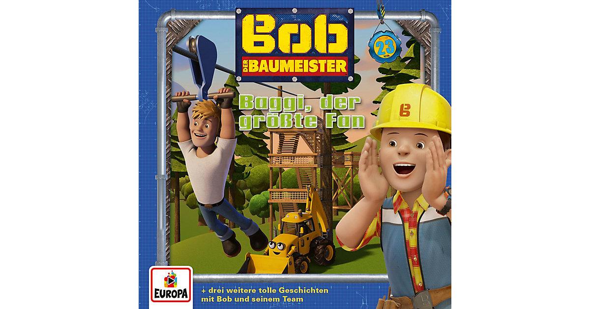 CD Bob der Baumeister 23 - Baggi, der größte Fan Hörbuch