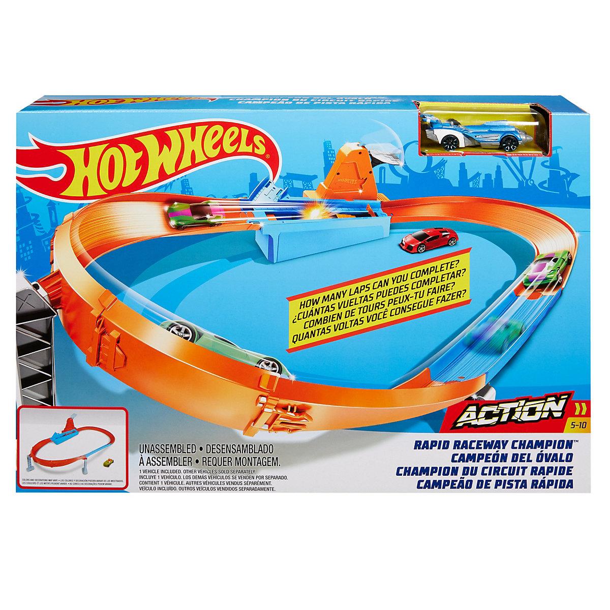 Hot Wheels Speed Boost Champion Trackset Hot Wheels laLE8