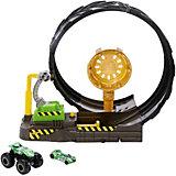 Игровой набор Hot Wheels Monster Trucks Мертвая петля