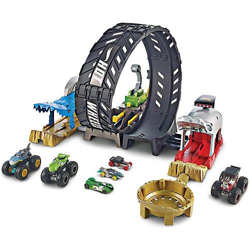 Игровой набор Hot Wheels Monster Trucks Мертвая петля от Mattel